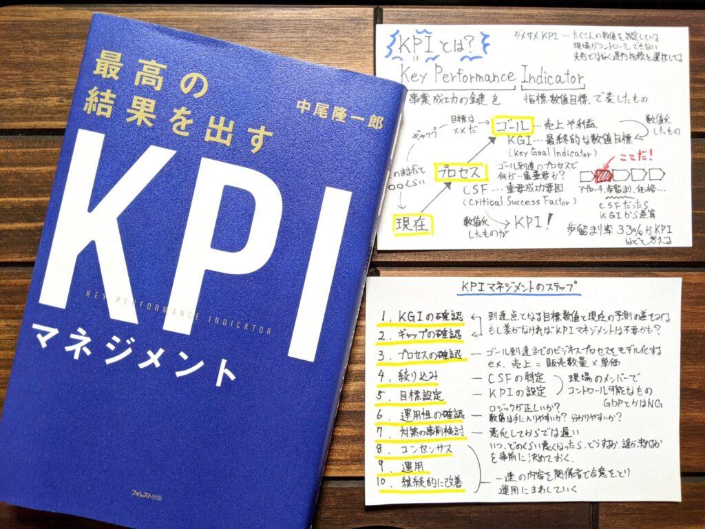 最高の結果を出すKPIマネジメント(中尾隆一郎 著)